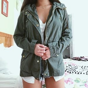 Jackets & Blazers - Army green jacket